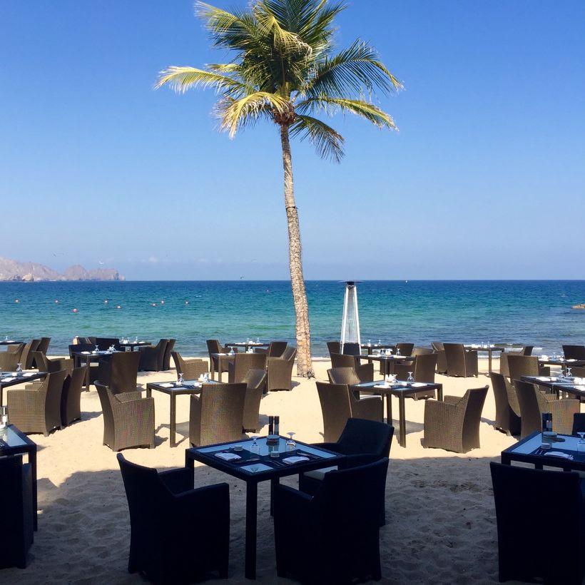 <strong>Al Bustan Palace Beach Pavilion Restaurant</strong>
