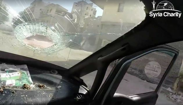At least 22 Syrian civiliansdied and 11 were wounded during attacks filmed by Syria Charity in...