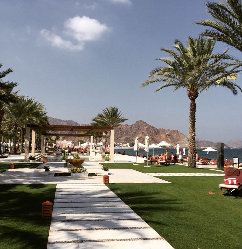 Al Bustan Palace Beach