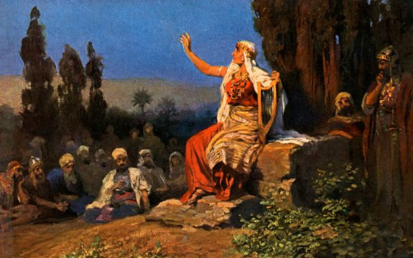 Deborah is a prophet from the Book of Judges.She leda successful Jewish rebellion against the forces of Canaan an