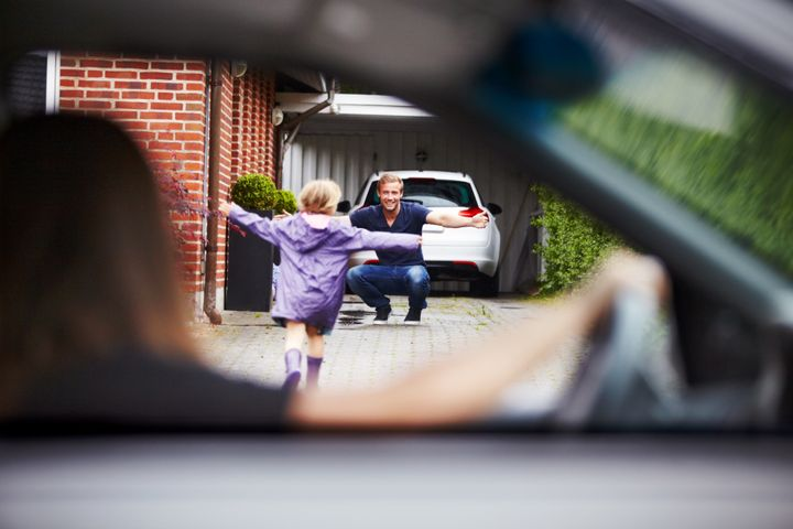 Space out the timing of the news and when a parent's move depending on the age of your child.