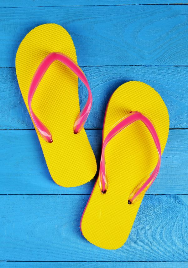 <strong>Flip-Flops</strong> <br> If they've touched the sand, they shouldn't come to work. <br> <br> <strong>Tube Tops</stron