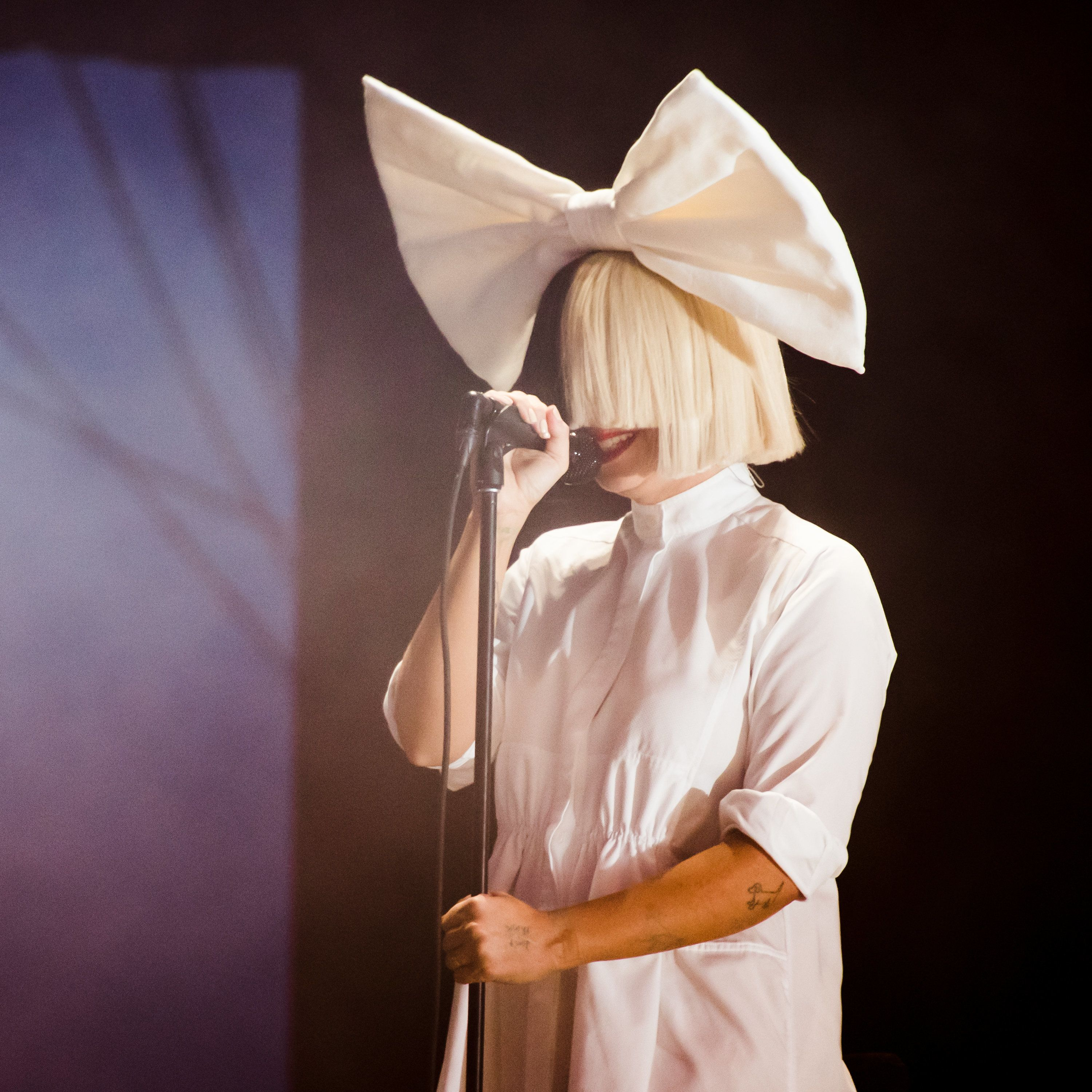 Sia performs on July 24, 2016, in New