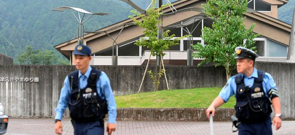 Knife Attack On Facility For The Disabled In Japan Leaves 19 Dead
