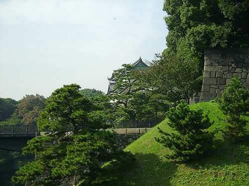 Tokyo Imperial Palace park