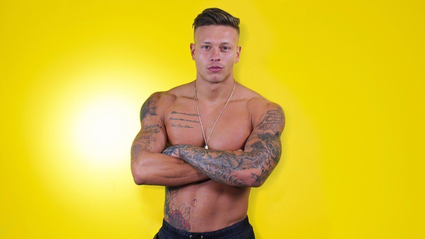 Alex Bowen appeared on the most recent series of 'Love