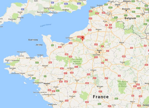 Hostages were taken after two men armed with knives entered a church in Saint-Etienne-du-Rouvray,