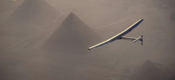 A Plane Has Flown Around The World Without Using A Drop Of Fuel