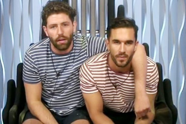 Sam and Alex were booted out of the 'Big Brother'