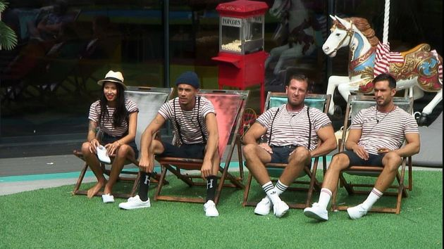 The housemates were taking part in a circus