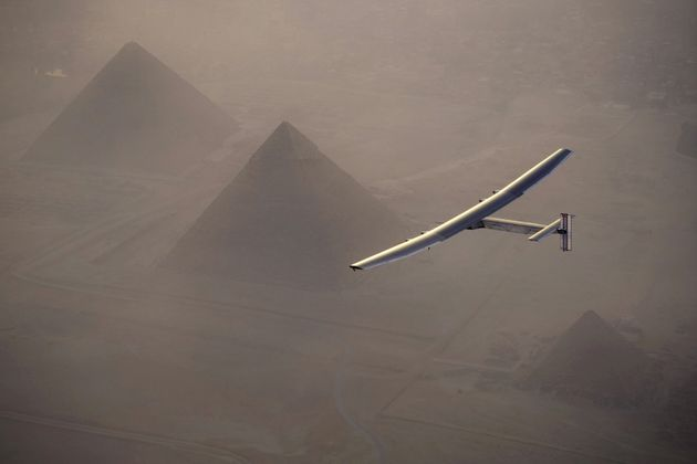 A Plane Has Flown Around The World Without Using A Drop Of