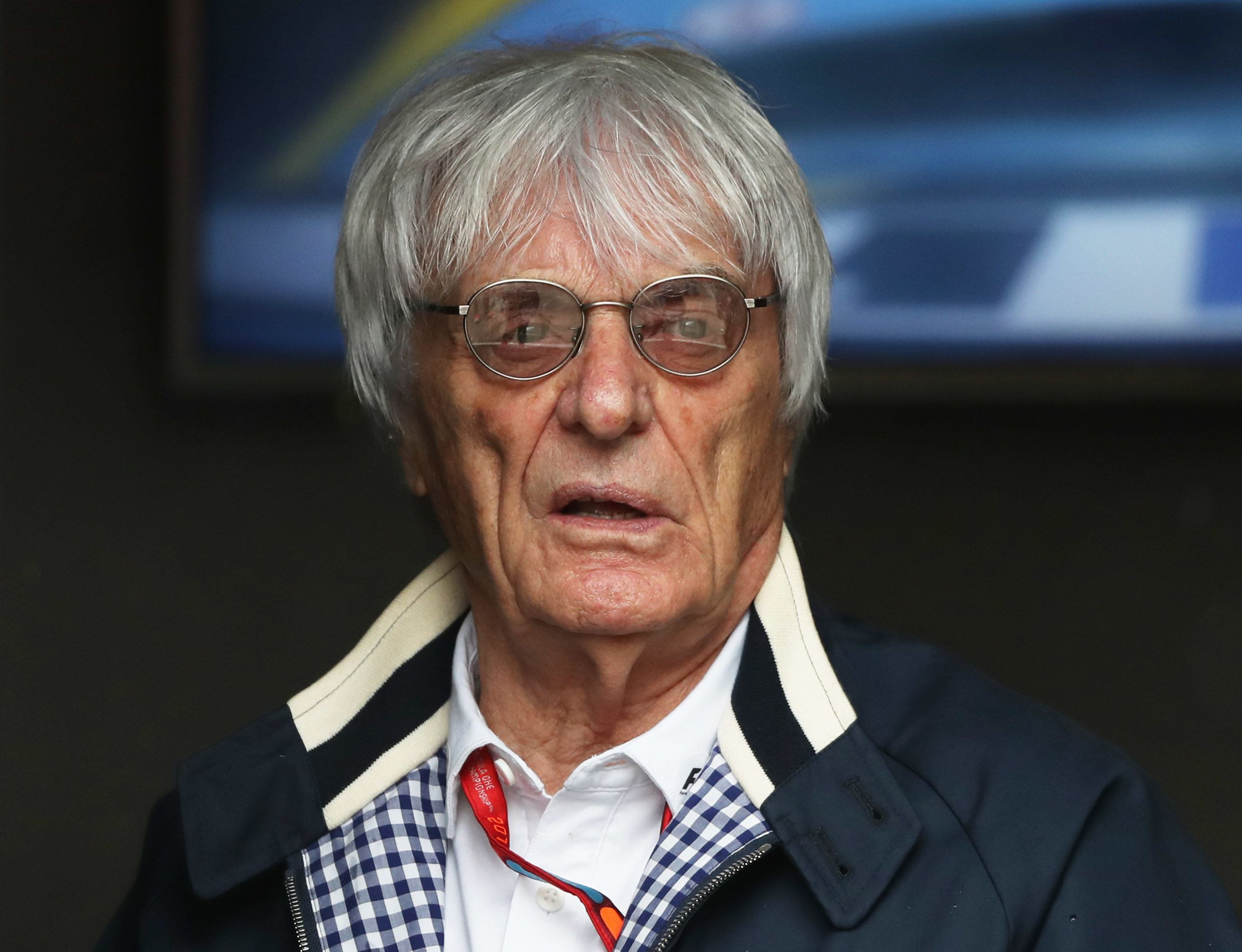 Aparecida Schunck, the mother-in-law of Formula One chief Bernie Ecclestone (pictured), has reportedly been kidnapped in Braz