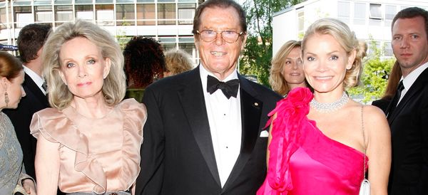 Roger Moore Announces The Death Of His Daughter Christina, Aged 47