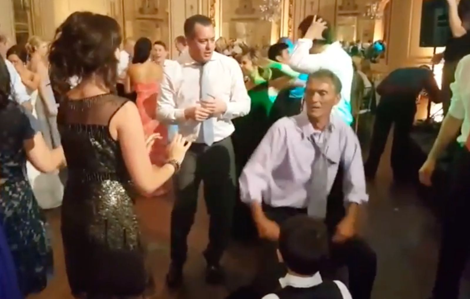 Man Dances Far Too Energetically At Wedding, We All Know What Happens