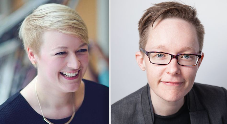 Lydia Rye [left] and Melanie Jeffs have received shocking abuse online since police made misogyny a hate