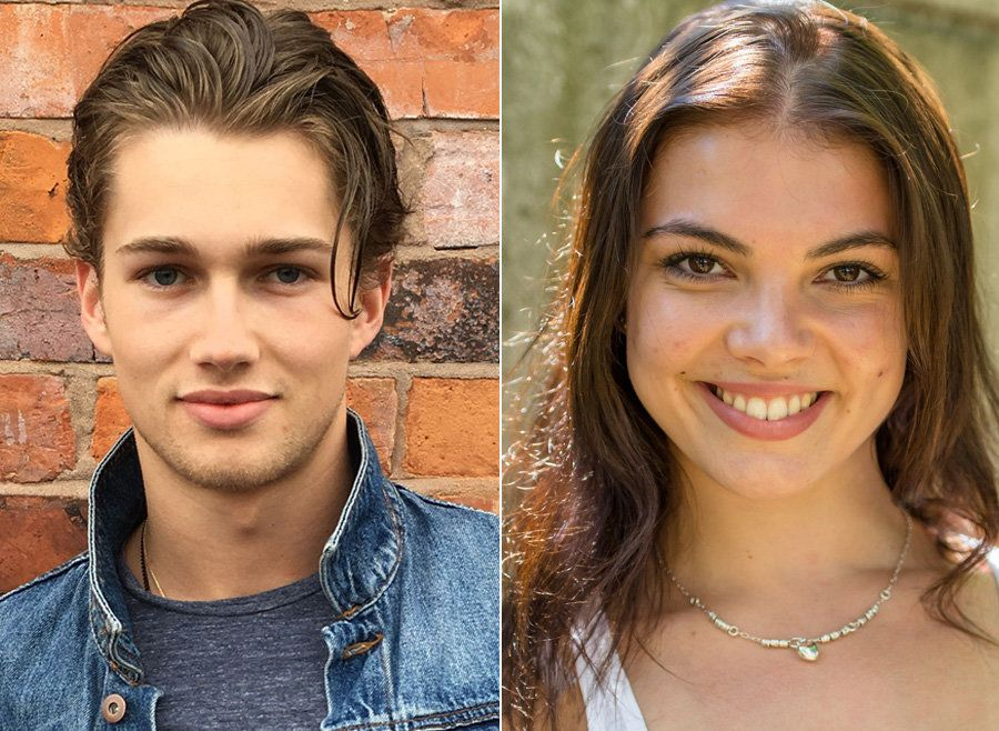 AJ Pritchard and Chloe Hewitt have joined 'Strictly Come