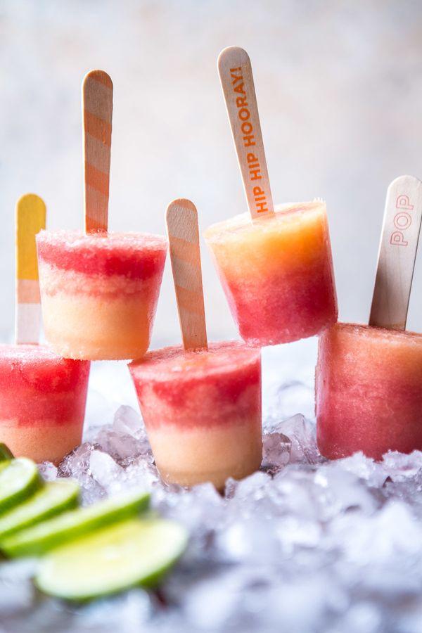 """<strong>Get the <a href=""""http://www.halfbakedharvest.com/melon-lemonade-margarita-popsicles/"""" target=""""_blank"""">Melon Lemonade"""