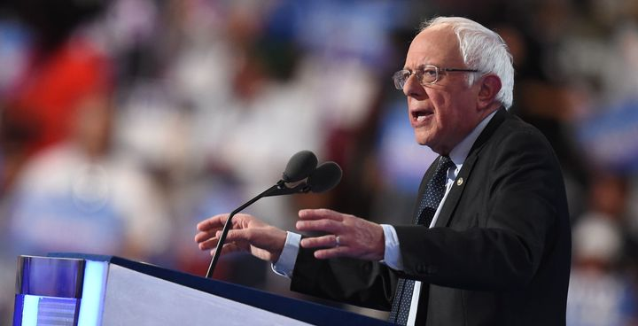 Bernie Sanders is urging his supporters to get on board with Hillary Clinton.
