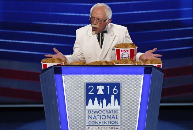 Bernie Sanders Endorses Bargain Bucket Deal At Democratic National