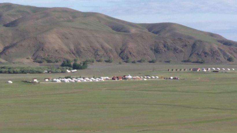 <i>Ger</i> camp near Karakorum