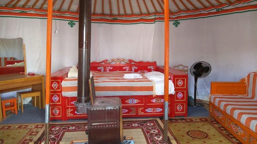 <i>Ge</i>r rooms in camps can be elaborately furnished