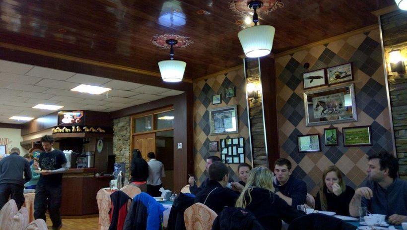 <i>Ger</i> camp dining hall