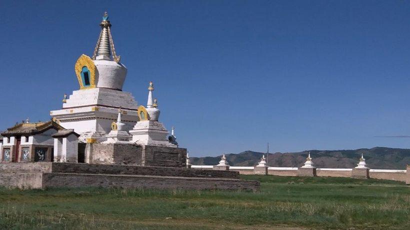 Stones from Karakorum built Erdene Zuu Kaiid