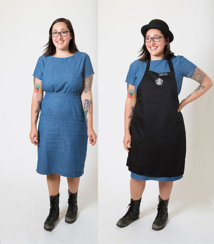 """This black apron isn&rsquo;t part of the new dress code, but rather a special apron reserved for <a href=""""https://news.starbucks.com/news/starbucks-coffee-masters-share-passion-for-coffee"""" target=""""_blank"""">Coffee Masters</a>."""
