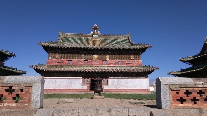 Temples in Erdene Zuu Kaiid house artifacts dating back to the 16th century