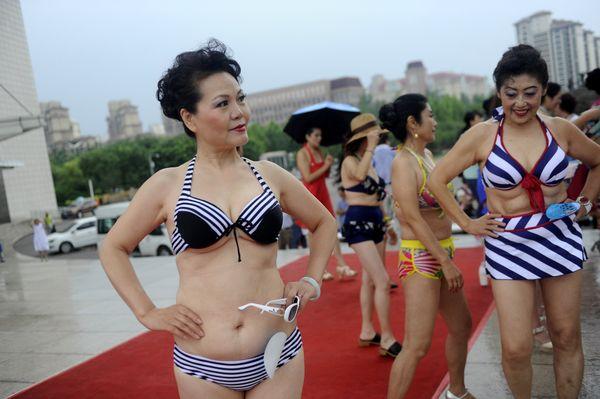 Old Bikini Contest 107