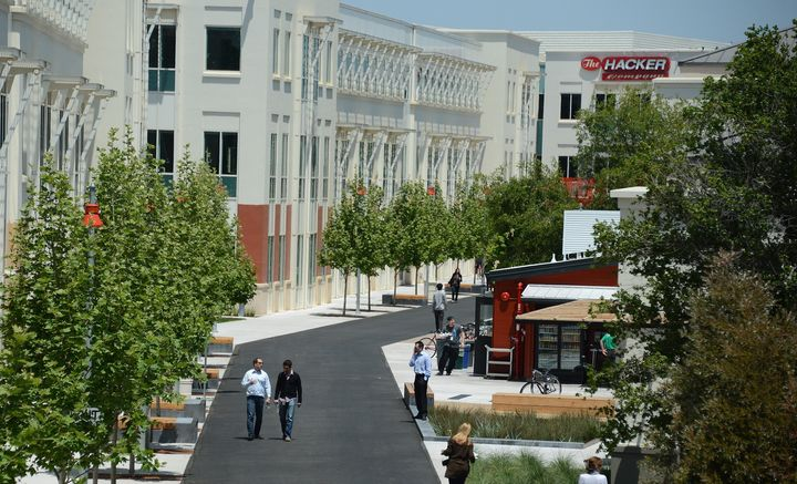 Facebook's Menlo Park campus in 2012.