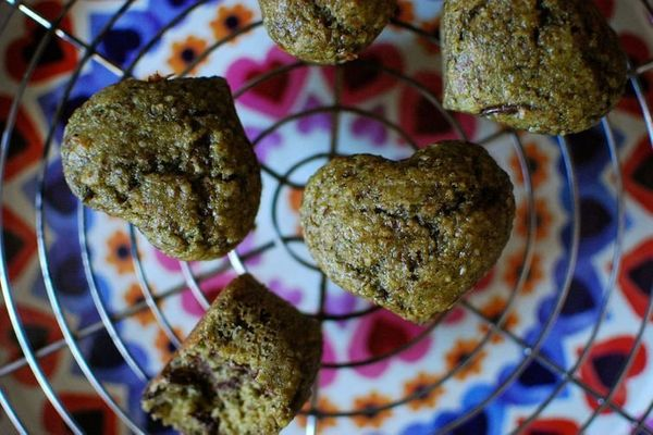 """<strong>Get the <a href=""""https://food52.com/recipes/36406-juice-pulp-muffins"""" target=""""_blank"""">Juice Pulp Muffins recipe</a>&n"""