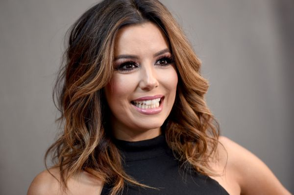 "Longoria has spoken out in support of Clinton on numerous occasions. ""I stand with Hillary because I'm a Latina,"""