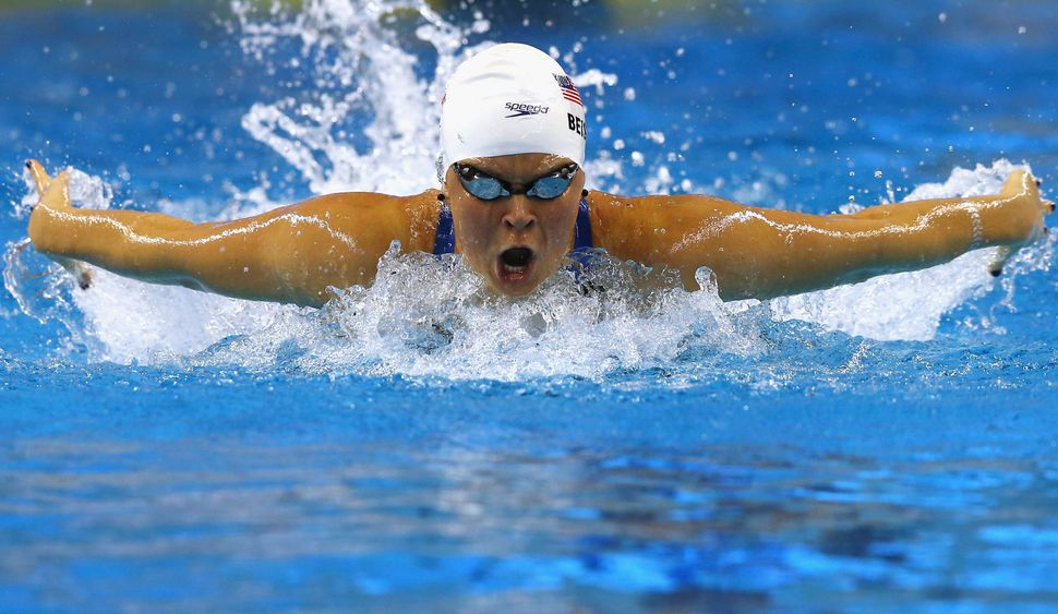 Elizabeth Beisel of USA competes in the Women's 400m Individual Medley heats during day one of the 12th FINA World Swimming C