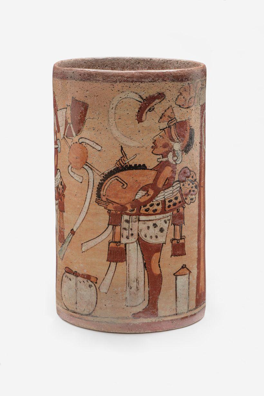 Maya Ceramic Vase at LACMA exhibit