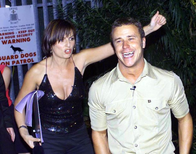 Davina with Big Brother 1 winner Craig Phillips in