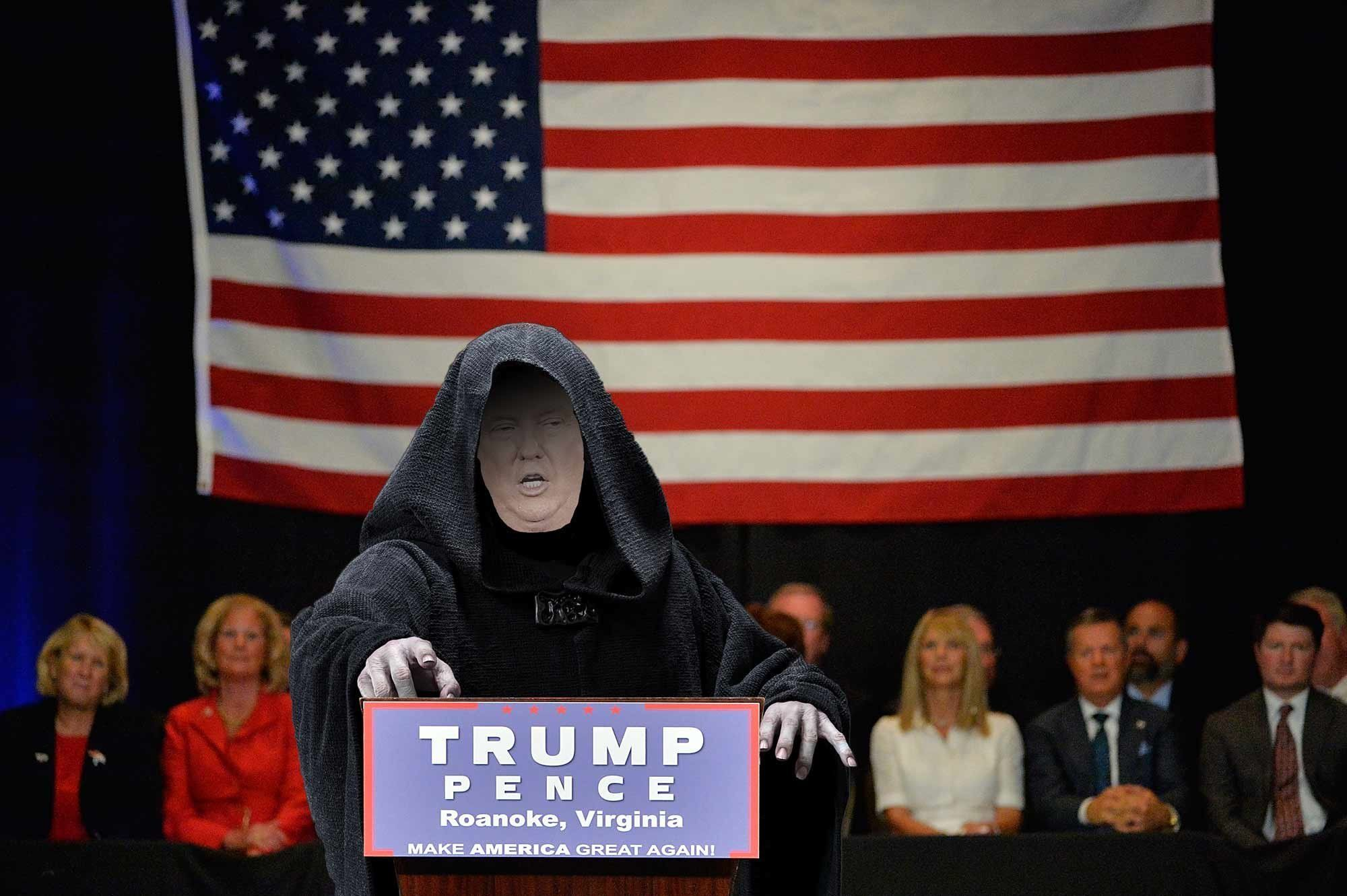 emperor palpatine is running for president