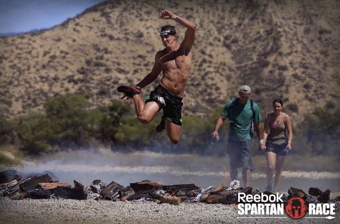 <i>Conner Curnick has competed in several Reebok Spartan Races </i><i>&mdash; 13 miles of running through hills and obstacles