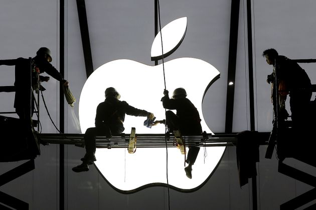 Apple's revenue and profits are down, with slowing sales of the iPhone largely to