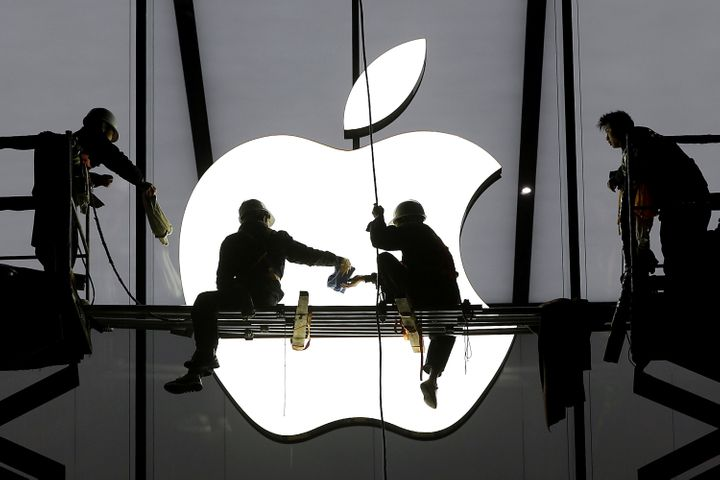 Apple's revenue and profits are down, with slowing sales of the iPhone largely to blame.