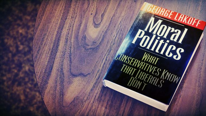 <i>Moral Politics: What Conservatives Know that Liberals Don't</i>&nbsp;&nbsp;(First Edition, 1996)