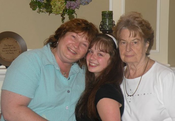 Three generations of women surviving cancer and beating the odds.