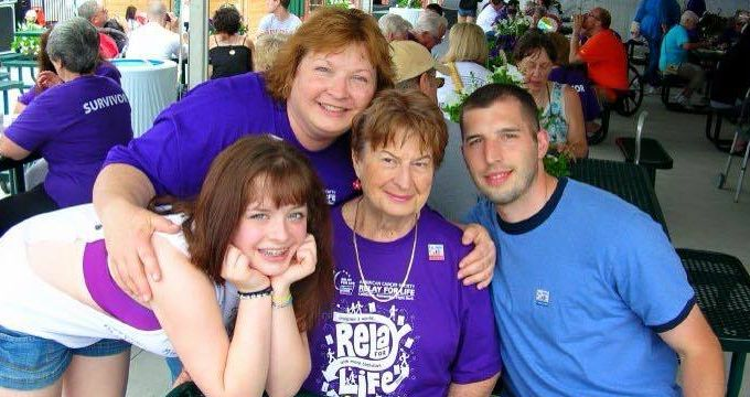 Year after year, we would spend weekends raising cancer awareness at a local Relay for Life.