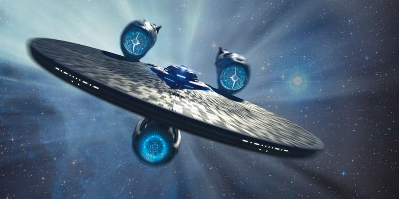 <strong>The Starship Enterprise</strong>