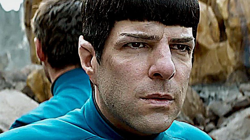 <strong>Zachary Quinto as Mr. Spock</strong>