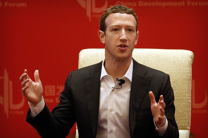 Facebook CEO Mark Zuckerberg. His company faced accusations of bias against conservative news earlier this year.