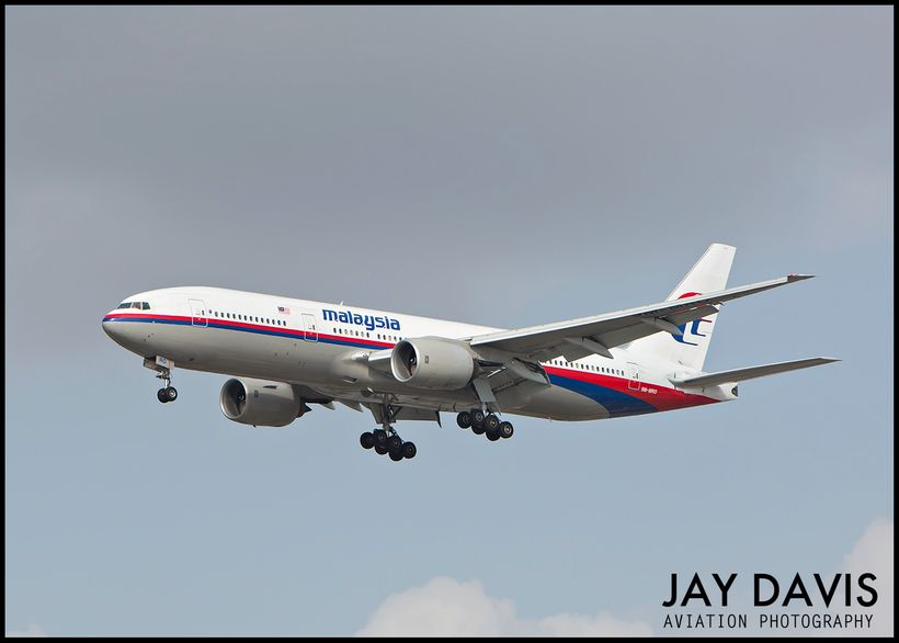 <i>The plane that flew as MH370 months before it disappeared</i>