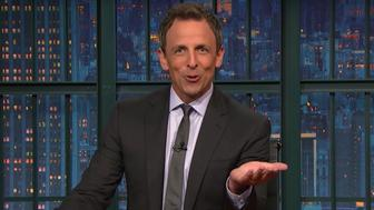 Seth Meyers has a message for Bernie or Bust supporters.