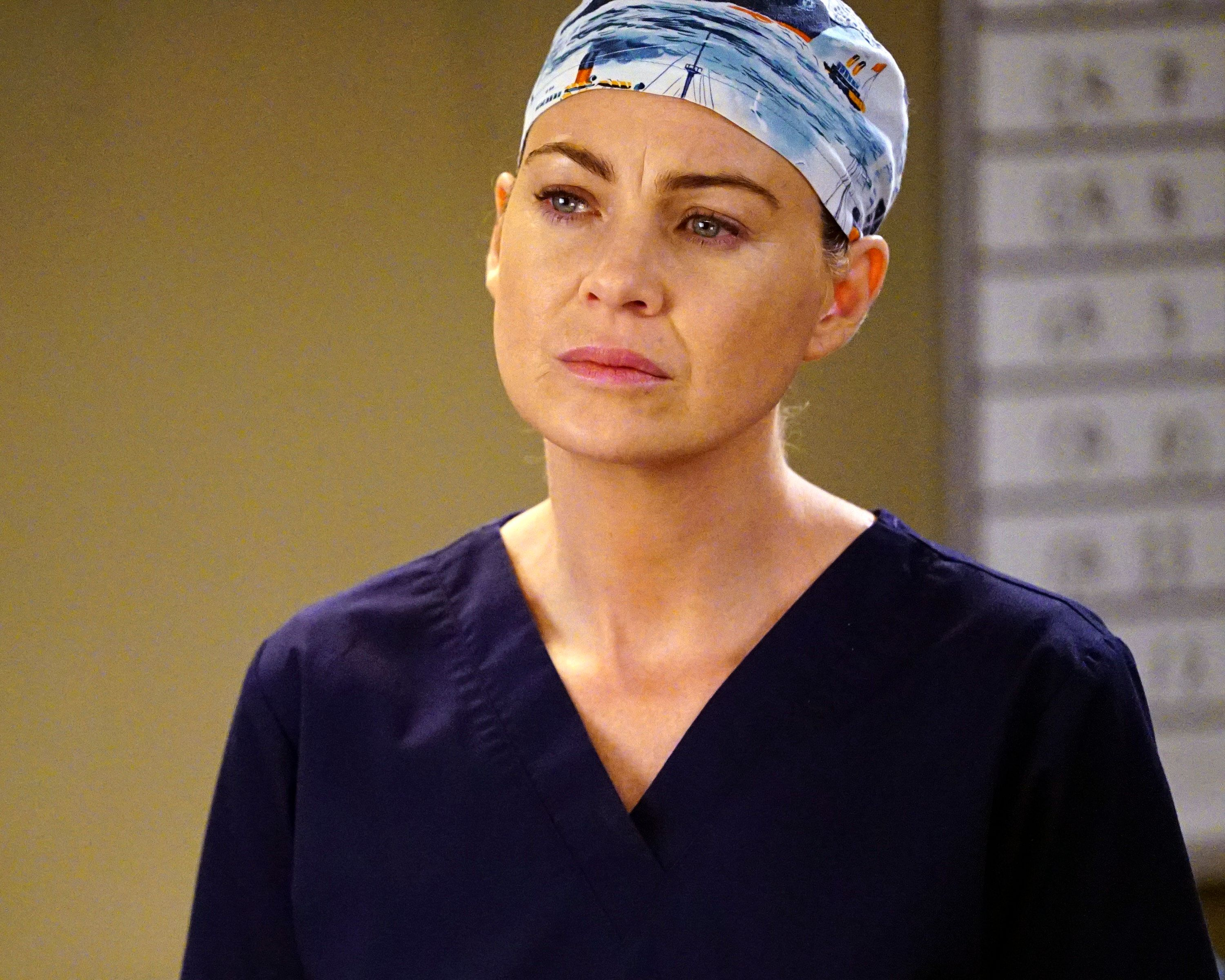 GREY'S ANATOMY - 'Trigger Happy' - The doctors work frantically to save a young boy who was accidentally shot. Meanwhile, Arizona is upset when Callie tries to make an important decision about Sophia's future without consulting her, on 'Grey's Anatomy,' THURSDAY, APRIL 21 (8:00-9:00 p.m. EDT), on the ABC Television Network. (Photo by Richard Cartwright/ABC via via Getty Images) ELLEN POMPEO
