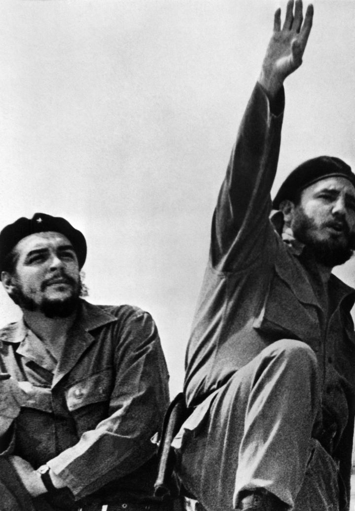 "Marxist revolutionary Ernesto ""Che"" Guevara, left, advised Cuban leader Fidel Castro on how to deal with the United Stat"